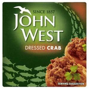 John West Dressed Crab 43g