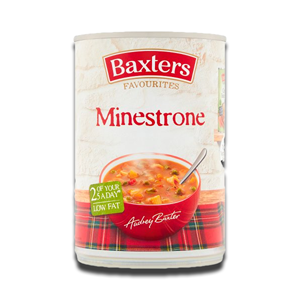 Baxters Soup Traditional Minestrone 400g