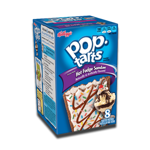 Kellogg's Pop Tarts Hot Fudge Sundae 8's 400g