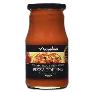 Napolina Tomato Herb Pizza Top 300g