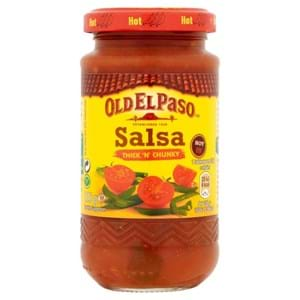 Old El Paso Hot Thick n Chunky Salsa 226g