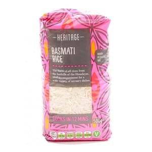 Heritage Basmati Rice Pink Label 1kg
