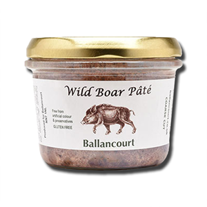 French Pate Wild Boar Pate with Juniper Berries 180g