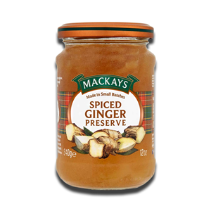 Mackays Spiced Ginger Preserve 340g