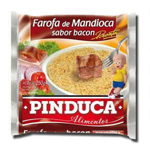 Pinduca Farofa Mandioca Bacon 250g