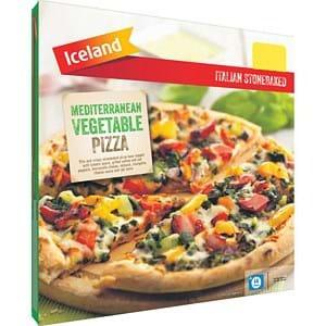 Iceland Mediterranean Veg Pizza 400g