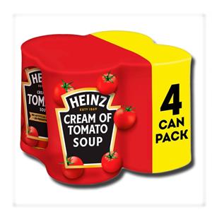 Heinz Cream of Tomato Soup 4 Pack 400g