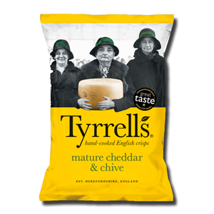 Tyrrell's Cheddar & Chives 150g