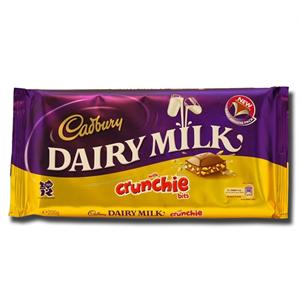 Cadbury Dairy Milk Crunchie 200g