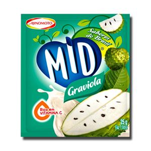 Mid Graviola Pó Refresco 25g