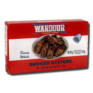 Ward Fancy Smoked Oyster 85g