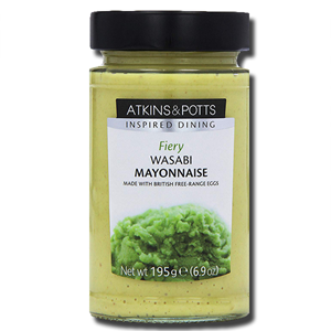 Atkins & Potts Wasabi Mayonnaise 220G