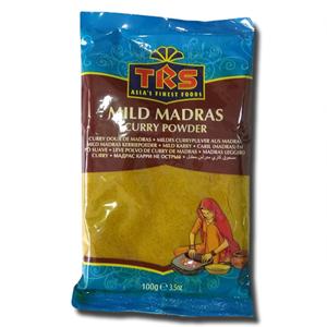 TRS Madras Curry Mild - Caril Pó Suave 100g