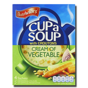 Batchelors Cup a Soup Cream of Vegetable Croutons 122g