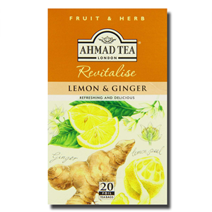 Ahmad Lemon & Ginger 20s