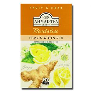 Ahmad Lemon & Ginger 20s