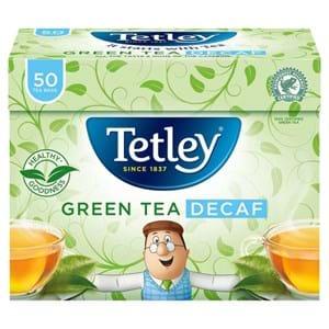 Tetley Green Tea Decaf 50
