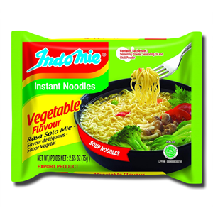Indomie Instant Noodle Soup Vegetarian 75g