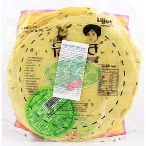 Lijjat Plain Moong Papads 200g