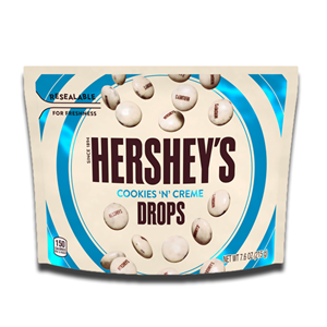 Hershey's Cookies N Cream Drops Pouch 215g