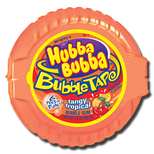 Hubba Bubba Tangy Tropic Tape Chewing Gum 56.7g