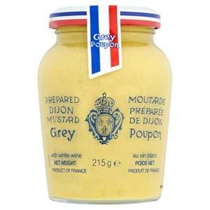 Grey Poupon Dijon Mustard and Wine 215g