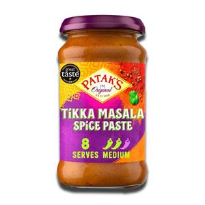 Patak's Tikka Masala Paste Medium Heet 283g