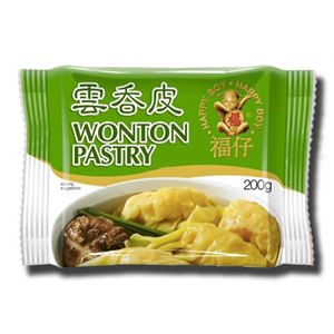 Boy Happy Wonton Pastry 200g