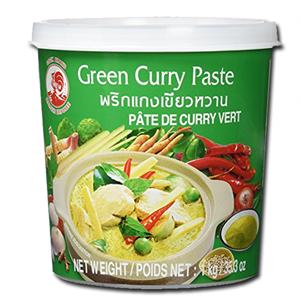 Cock Brand Pasta Caril Verde 400g