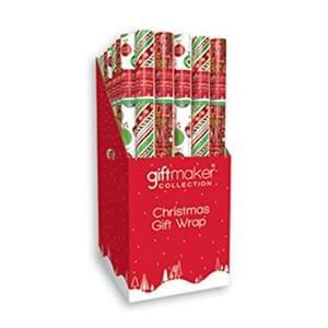Giftmaker Christmas Gift Wrap 2M