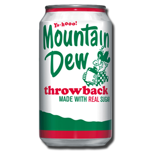 Mountain Dew Throw Back 300ml