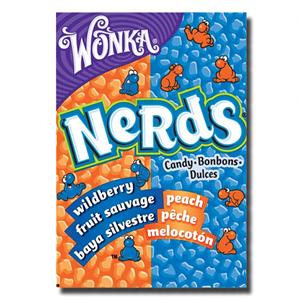 Wonka Nerds Wildberry Peach 46,7g