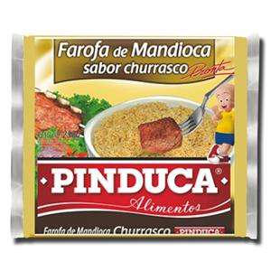 Pinduca Farofa de Mandioca Churrasco 250g
