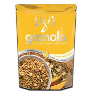 Lizi´s Granola Mango Macadamia 400g