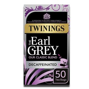 Twinings Earl Grey Decaf 50´s