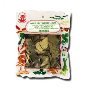 Cock Brand Dried Kaffir Lime Leaves 10g