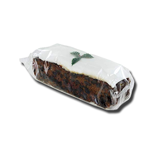 Gold Crown Christmas Iced Fruit Cake Bar Wrapped 400g