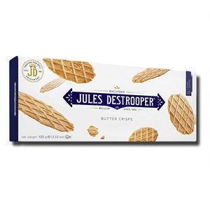 Jules Destrooper Belgium Butter Crisps 100g