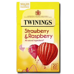 Twinings Raspberry, Strawberry & Loganberry 20's