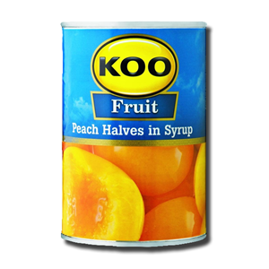 Koo Peaches Halves 410g