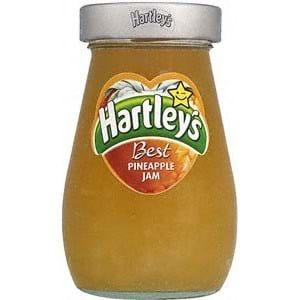 Hartley's Best Pineapple Jam 340g