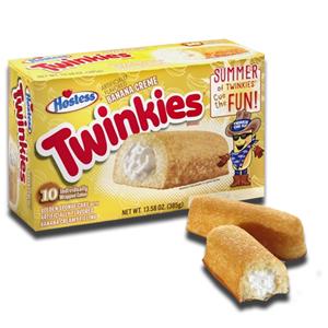 Hostess Twinkies Banana Creme Unit