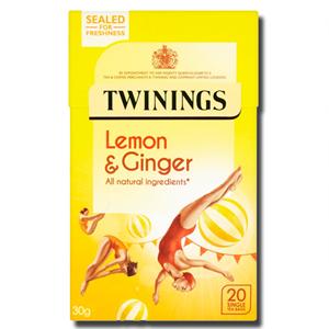 Twinings Lemon & Ginger 20's