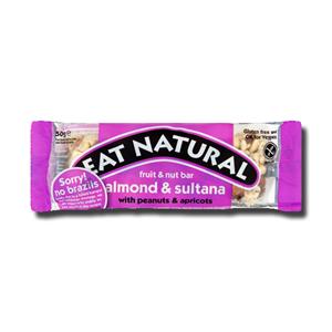 Eat Natural Brazil, Sultana & Almond 50g