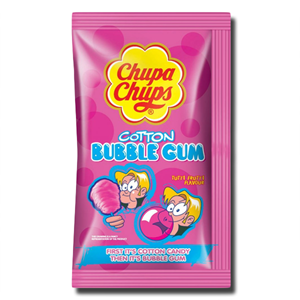 Chupa Cotton Candy Gum 11g