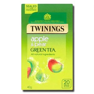 Twinings Green Tea Apple & Pear 20's