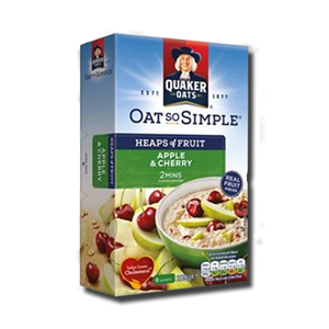 Quaker Oat So Simple Apple & Cherry 8x36,1g