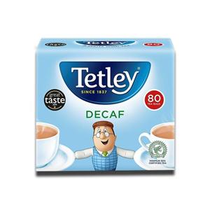 Tetley TeaBags Decaff 80's