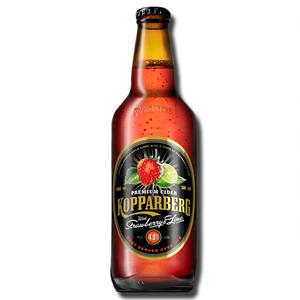 Kopparberg Cider Strawberry Lime Bottle 500ml