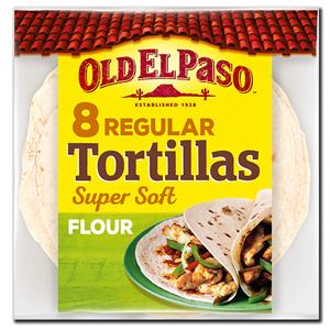 Old El Paso Flour Tortilla 326g